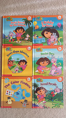 Dor the Explorer Books - A  lot  of 28 books. 24 Dora book, 4 other books.