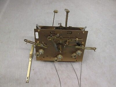Kieninger Triple Chime Grandfather Clock Movement, 82 K 116cm in Working Cond.