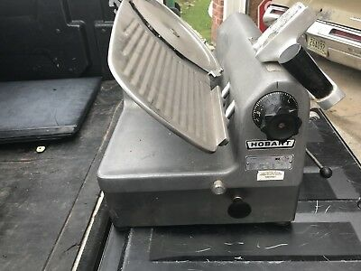 Hobart 1712E Automatic Commercial Deli Meat Slicer