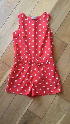 Girls Age 6 Years Next Polka Dot All In One Shortsuit