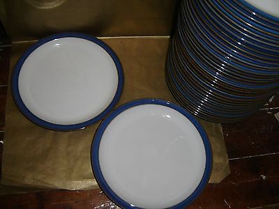 """1x denby imperial blue dinner plate 10.25"""" diameter (several available)"""