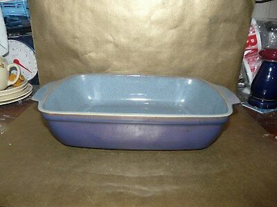 denby storm large oblong roasting tray / lasagne baking dish