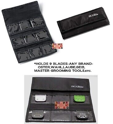 ANDIS Clipper BLADE Storage Tote CASE Organizer*Also For Oster A5,Wahl,Laube,etc