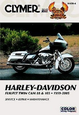 Clymer Service Manual Harley Flhrs Road King Custom & Fuel Injection 2004-05