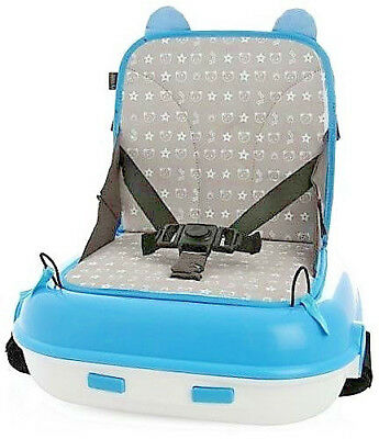 LiL JUMBL BOOSTER SEAT CARRY PACK Blue Child Up To 45 Lbs Carry Everything New