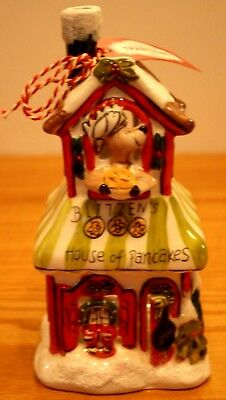 Christmas Blue Sky Clayworks Reindeer Blitzens House Pancakes Goldminc T Light