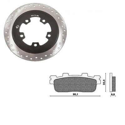 One - Set Disc E Brake Pads Rear Kymco Downtown 125-200-300 09/10