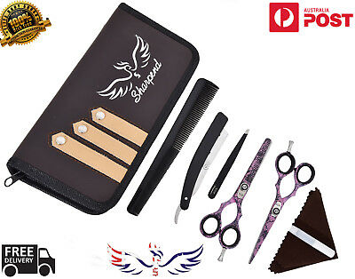 """5.5"""" Professional Hairdressing Salon Scissors Thinning Barber Haircutting Shear"""