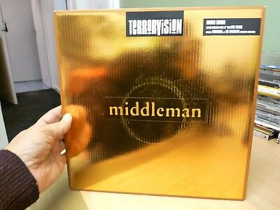 """Terrorvision - Middleman - Limited Edition 12"""" Single Copper Vinyl + Poster Mint"""