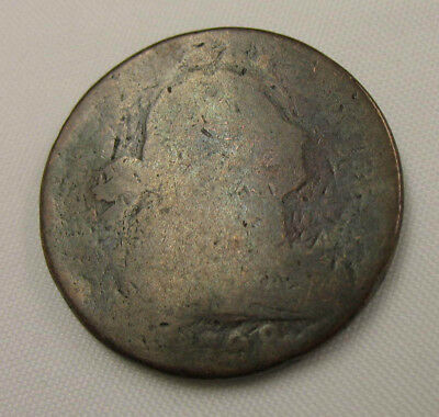 1798 U.S.Draped Bust Large Cent, Filler Readable Date No Reserve & Free Shipping