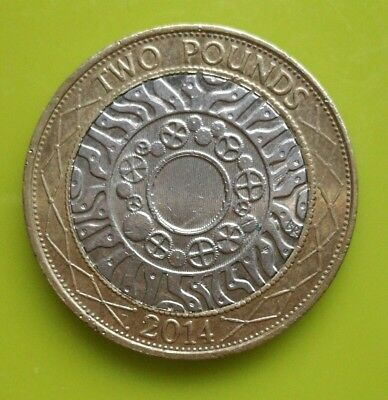 £2 Coin - 2014- Technology - Standing On The Shoulders Of Giants - Two Pounds