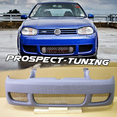 *PT VW GOLF MK4 4 IV FRONT BUMPER R32 look ABS NEW 1997 - 2004 Mesh