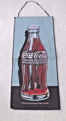 """Coca Cola Bottle Wall Hanging Tapestry 29 1/2"""" x 12 1/2"""""""
