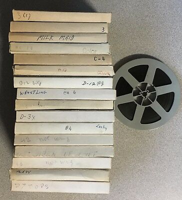 Lot of 16 Vintage Adult Stag 8mm Films Color & Black and White Picture Home Rare