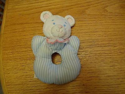 Vintage Fisher Price Puffalump Squeaker Rattle  1992