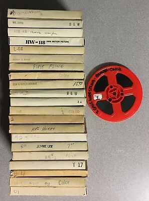 Lot of 22 Vintage Adult Stag 8mm Films Color & Black and White Picture Home Rare