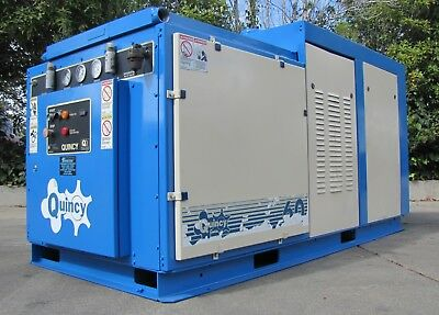Quincy 60hp Positive Displacement Rotary Screw Air Compressor 460V 3PH QMA Serie
