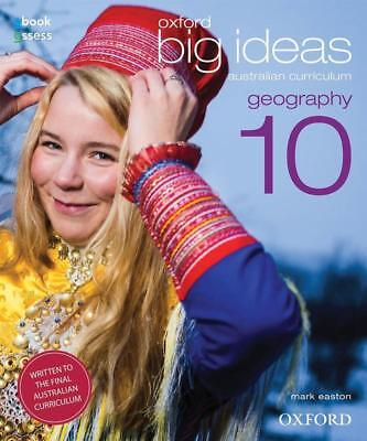 NEW Oxford Big Ideas Geography 10  By Mark Easton Book with Other Items