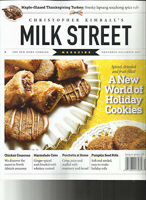 Christopher Kimball's   Milk Street Magazine,    November / December, 2017