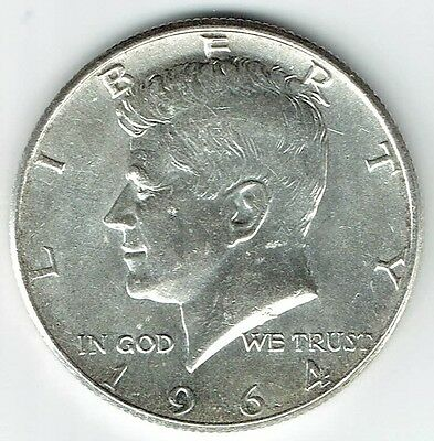 1964 P Kennedy Half Dollar 90% Silver US Mint (Exact Coin Shown) 272