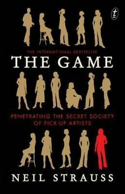 NEW The Game By Neil Strauss Paperback Free Shipping