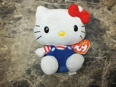 New Ty Beanie Babies Hello Kitty - Mint With Mint Tag