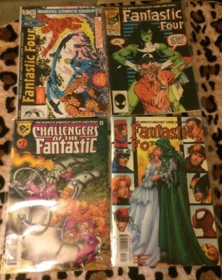 Fantastic Four Vol 1. #252,  275, Vol. 3, #27,Amalgam: Challenges of Fantastic