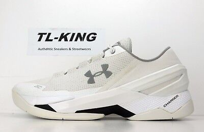 936cee0b8f02 norway under armour ua curry 2 low chef white silver 1264001 103 msrp 120 d  jc