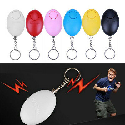 Personal Self Defense Keychain Alarm Emergency Siren Song Survival Whistle