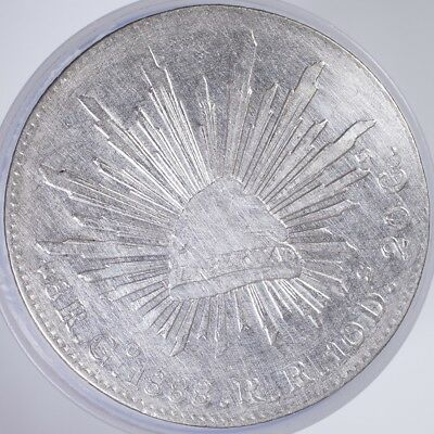 1888 Mexico 8 Reales VF cleaned, .9030 Silver, .7859oz