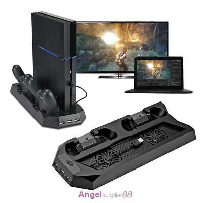 PS4 Cooling Fan Vertical Stand Station Controller Charger for Sony Playstation 4