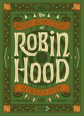 NEW The Merry Adventures of Robin Hood  By Howard Pyle Leather Bound Book
