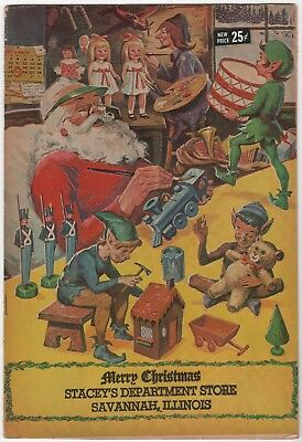 Classics Illustrated A Christmas Adventure, Promo issue, Stacey's 1969 Fine 6.0