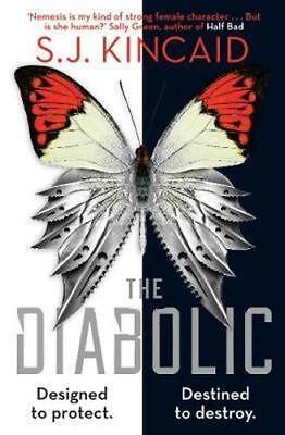 NEW The Diabolic By S.j. Kincaid Paperback Free Shipping