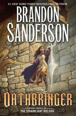 NEW Oathbringer By Brandon Sanderson Hardcover Free Shipping