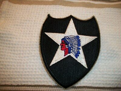 2nd Infantry Division Patch  WW-11 US Army nice original