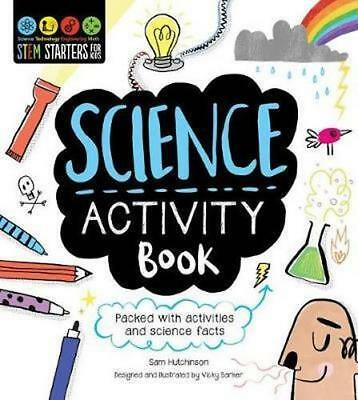 NEW STEM Starters for Kids Science Activity Book By Sam Hutchinson Paperback