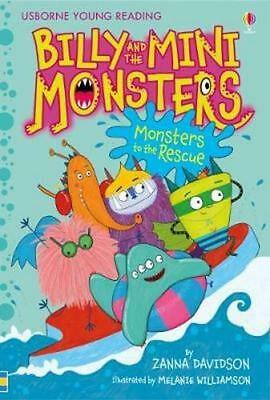 NEW Billy and the Mini Monsters (3) - Monsters to the Rescue By Zanna Davidson