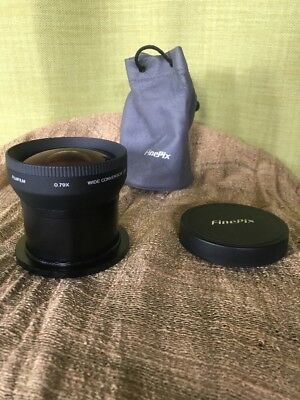 FUJI FUJIFILM 0.79x Wide conversion Lens with 55mm Adpator Extension Tube