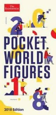 NEW Pocket World in Figures 2018 By The Economist Hardcover Free Shipping