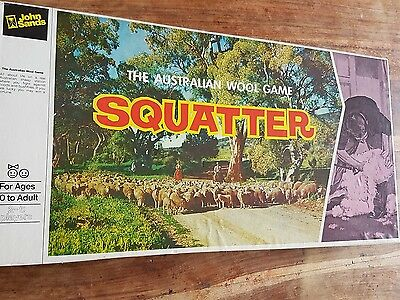 Vintage 1961 SQUATTER The Australian Wool Game Complete