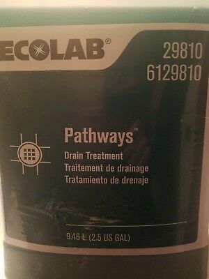 Ecolab Pathways Drain Treatment 2.5 gallons