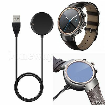 USB Data&Charging Cable Cradle Charger Dock for ASUS ZenWatch 3 Smart Watch #ISR