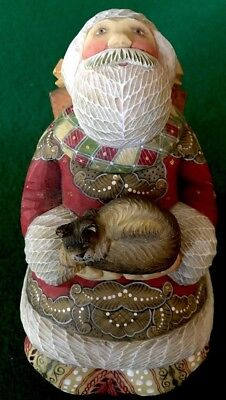 """G DeBrekht Afternoon Nap Santa Limited Edition Leisure Time Series 7"""" Tall"""