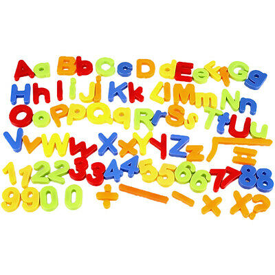 Magnetic Letters Childrens Alphabet Magnets In UPPER Case Learning Toys