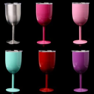 Stainless Steel Wine Glass Champagne Drinking Cup Kitchen Tools Goblet Barware