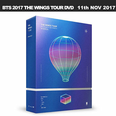 BTS 2017 Live Trilogy EPISODE III THE WINGS TOUR in Seoul CONCERT DVD/ Poster