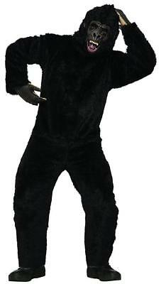 b81a35078 Gorilla Suit Ape Monkey Animal Mascot Fancy Dress Up Halloween Adult Costume