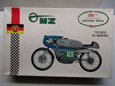 Protar Vintage 1/9 Scale MZ 250cc Twin Grand Prix Model Kit New - Kit #111 Rare