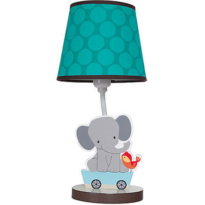 Kids Animal Lamp Table with Shade Baby Boys Room Child Gift Newborn Top Quality